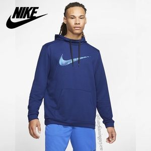 🆕 Nike Blue Dri-FIT Pullover Training Hoodie